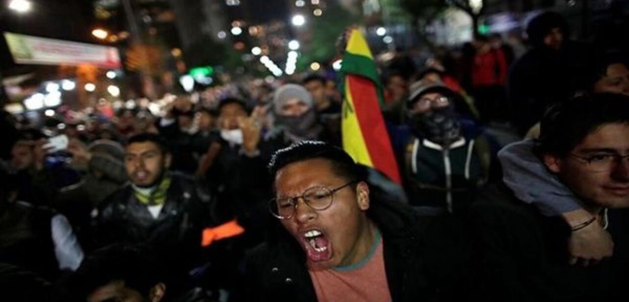 Bolívia - oposição não reconhece resultados eleitorais e sai às ruas