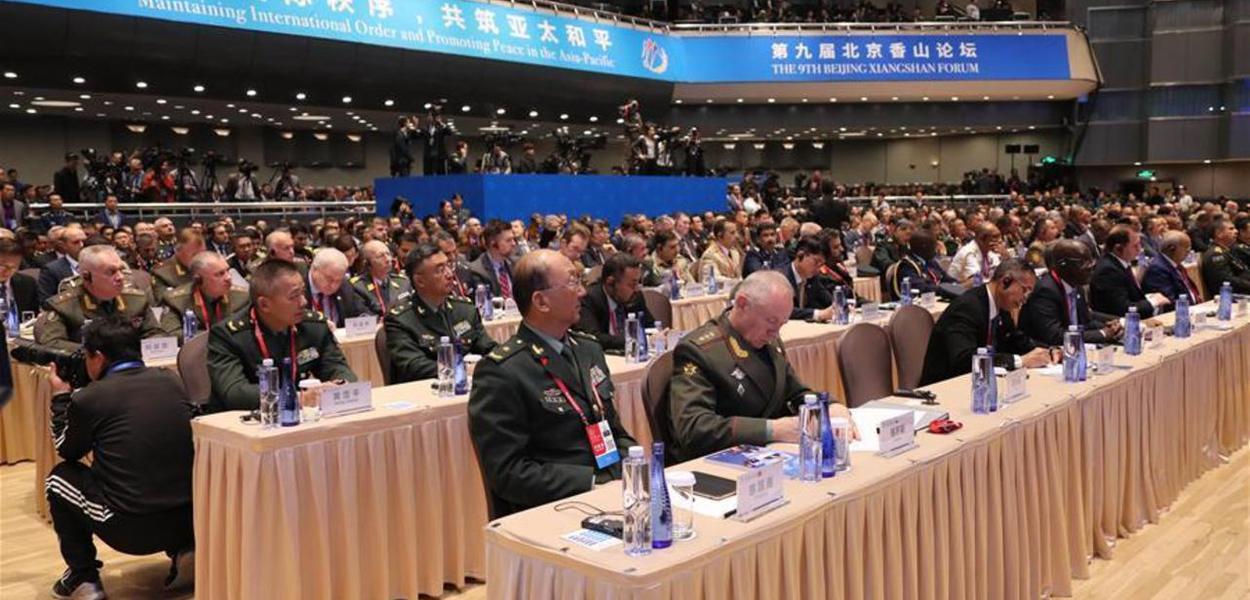China - Fórum de manutenção da ordem internacional e paz