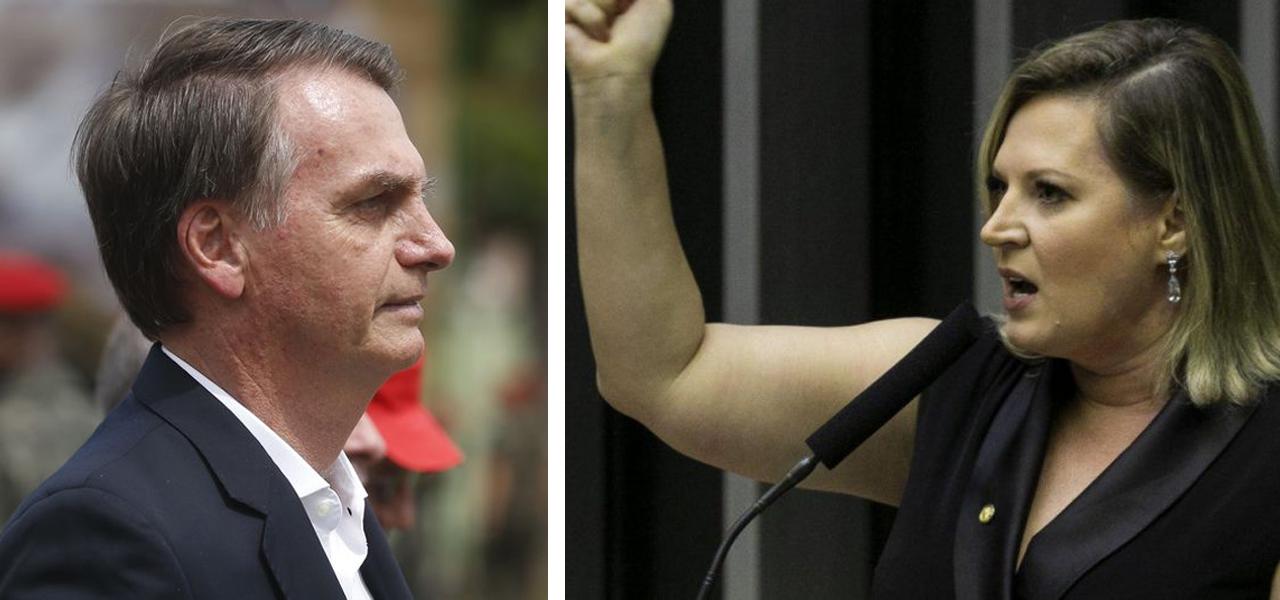 Joice, sobre pronunciamento de Bolsonaro: 'irresponsável, inconsequente e insensível'