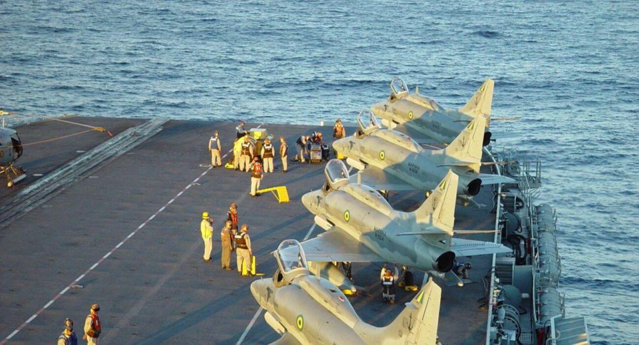 Caças da Marinha brasileira