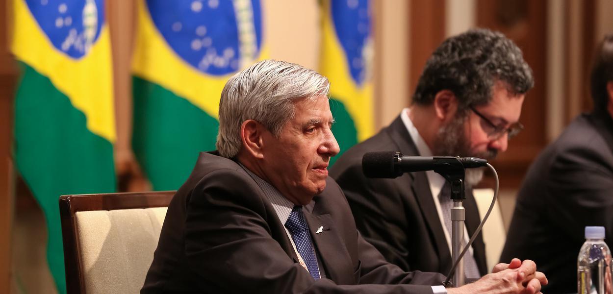 General Augusto Heleno, ministro da GSI