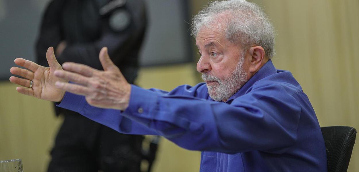 Lula concede entrevista ao site Brasil de Fato