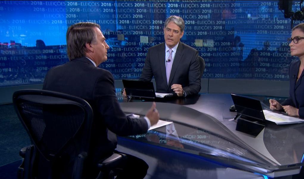 Globo abriu alas para Bolsonaro passar