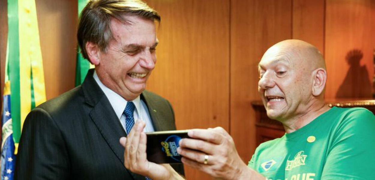 Empresário Luciano Hang estaria entre os suspeitos de financiar 'fábricas' de fake news pró-Bolsonaro