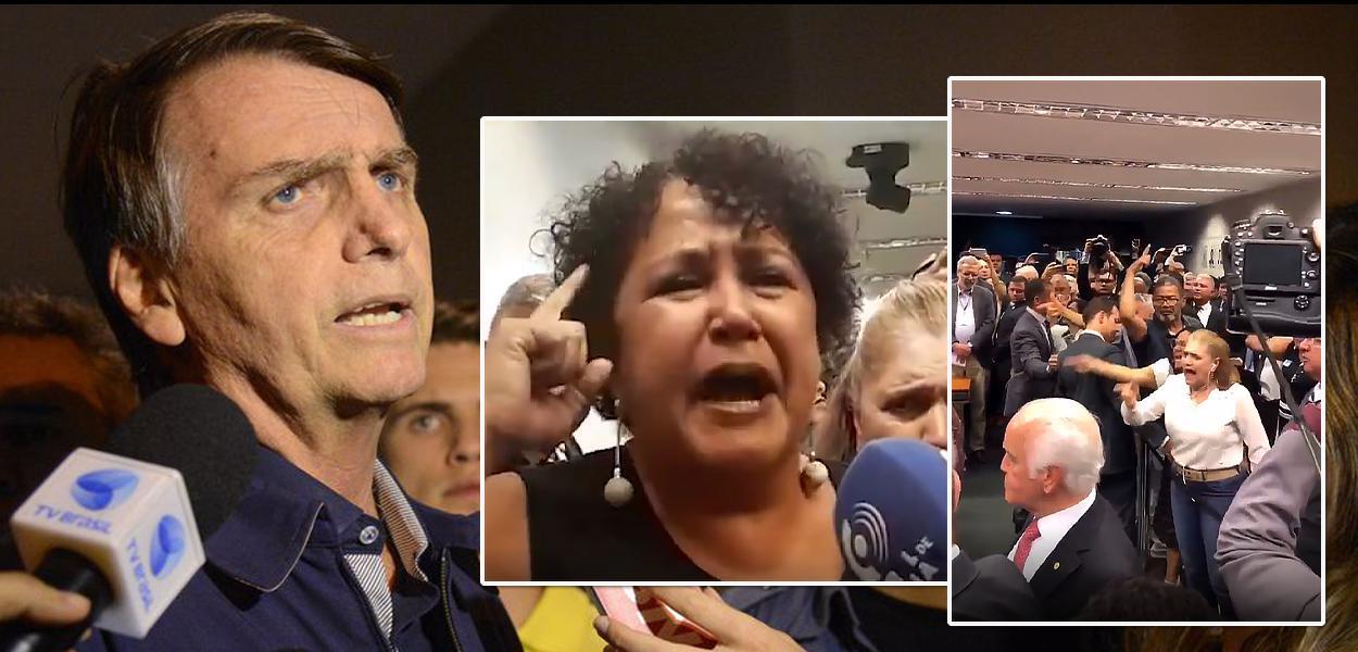 Militares e familiares chamam Bolsonaro de traidor