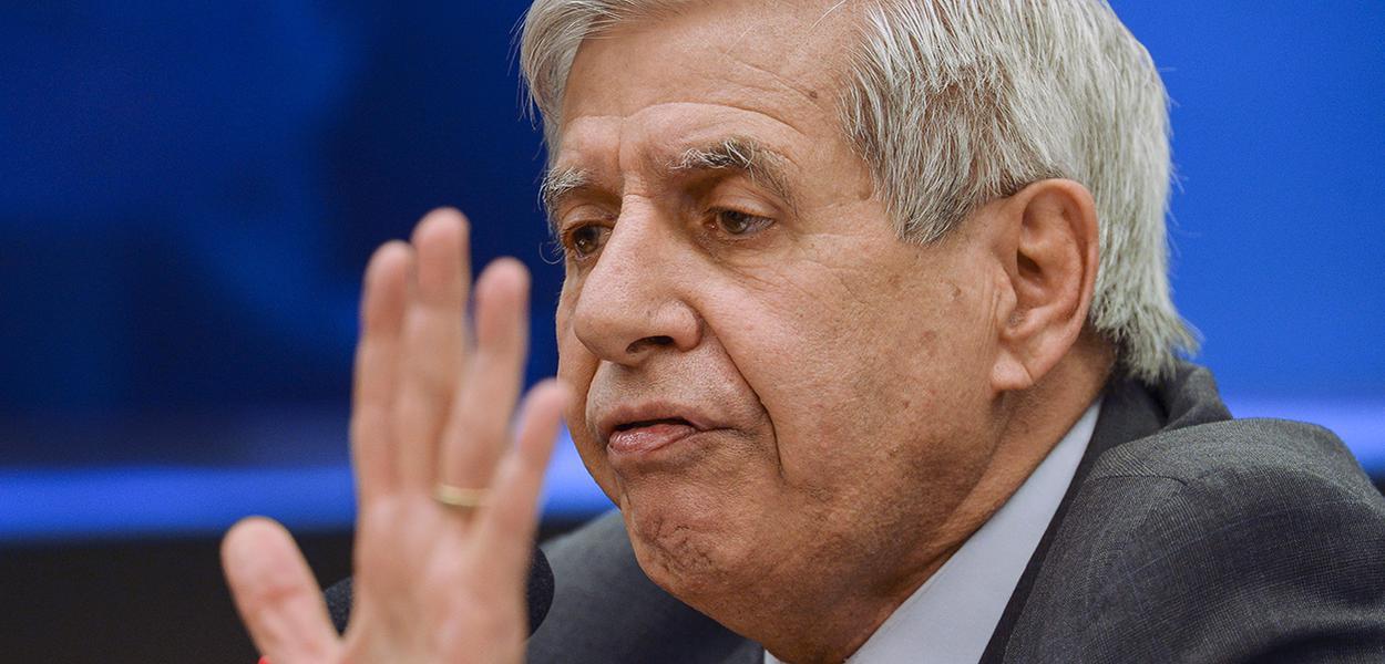 O ministro do Gabinete de Segurança Institucional, Augusto Heleno