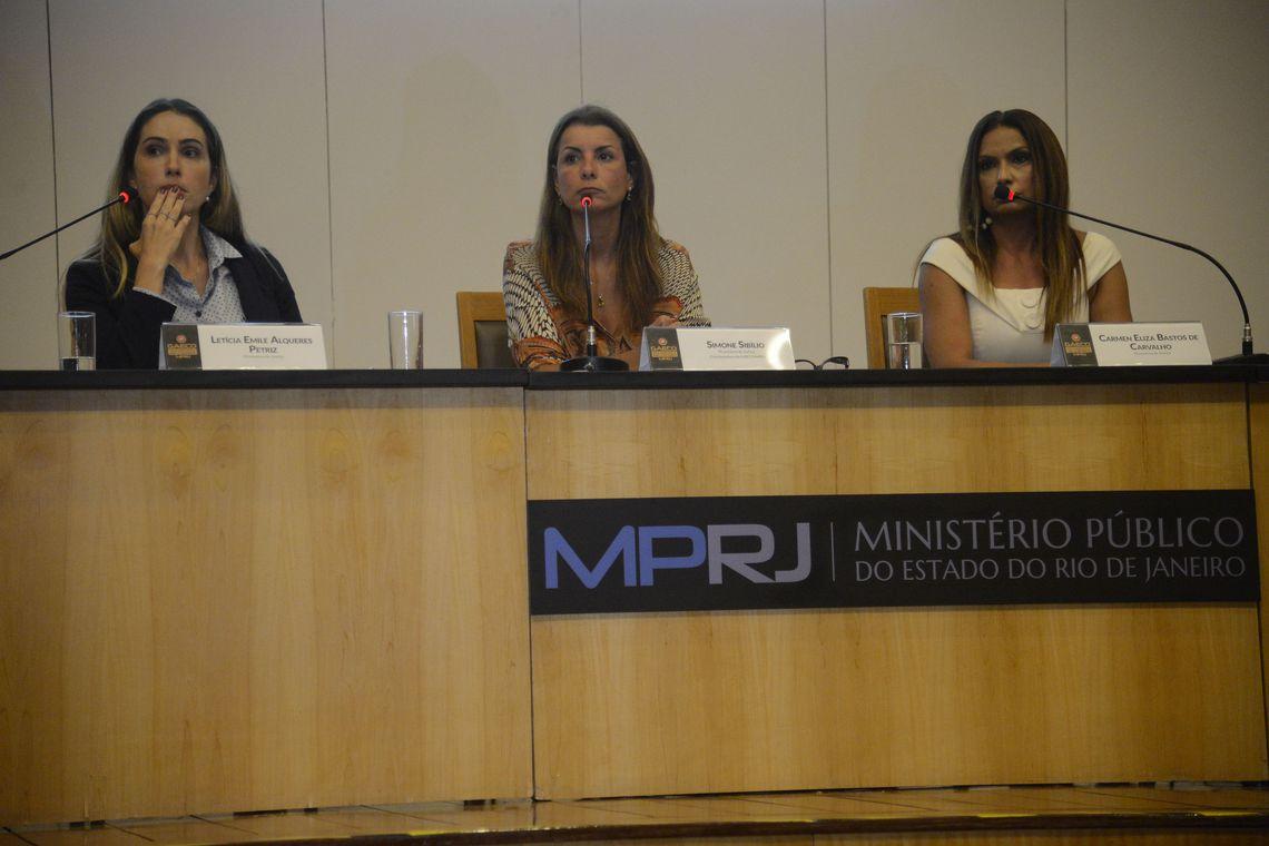 Promotoras do MP-RJ dão coletiva sobre envolvimento do nome de Bolsonaro no caso Marielle