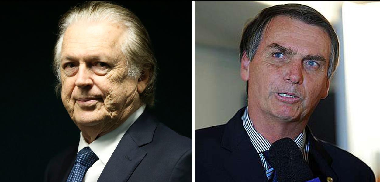 Luciano Bivar e Jair Bolsonaro