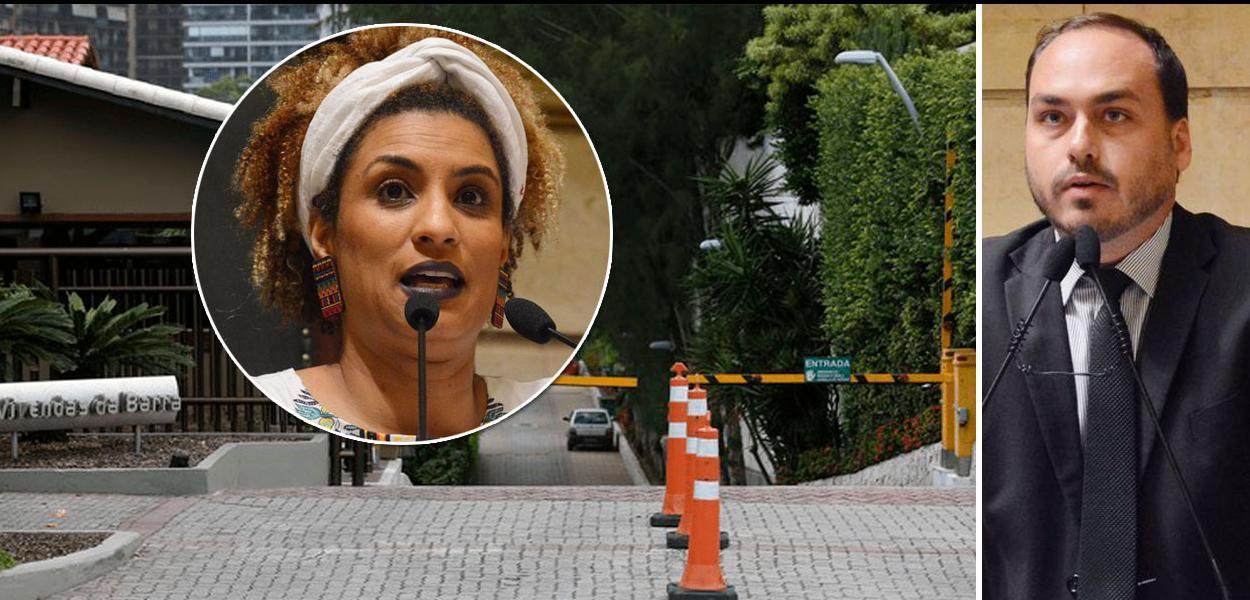 Carlos Bolsonaro rebate versão de porteiro do condomínio de seu pai, Jair Bolsolnaro