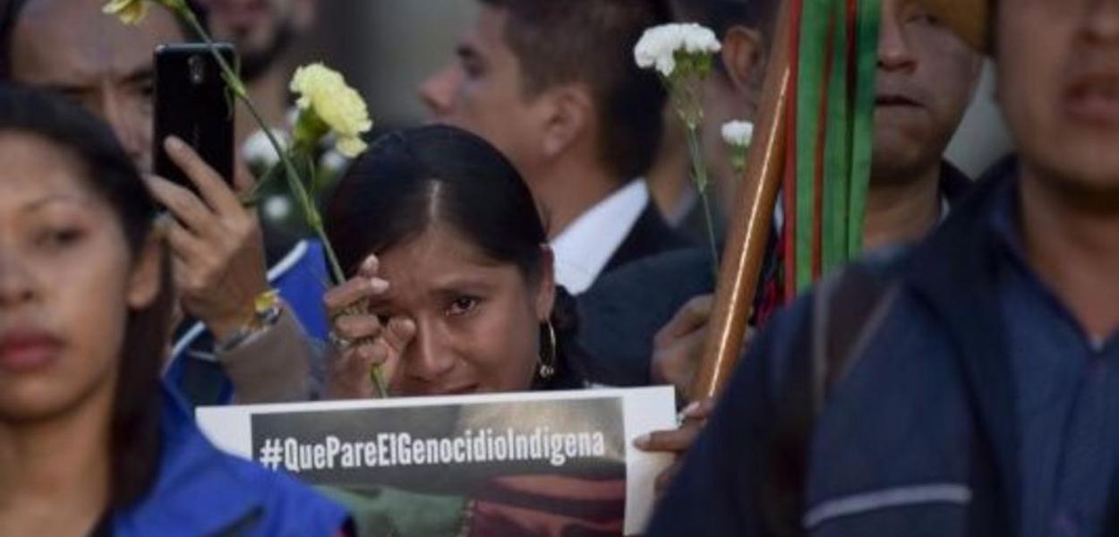 Colômbia, genocídio indígena