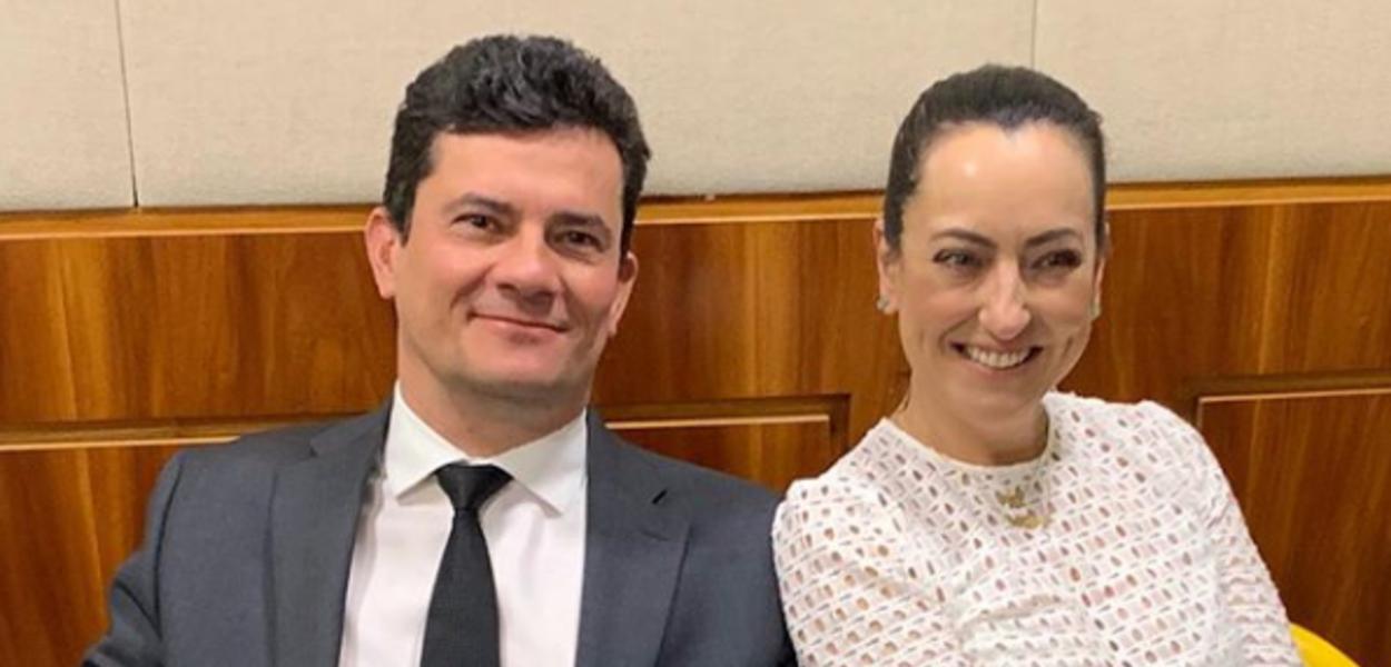 Sérgio Moro e Rosangela Moro