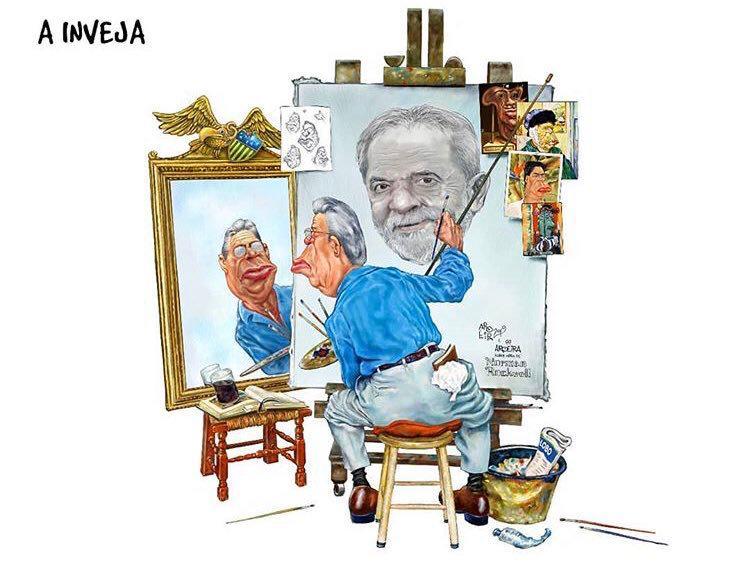 Ex-presidente Lula no Sindicato dos Metalúrgicos do ABC