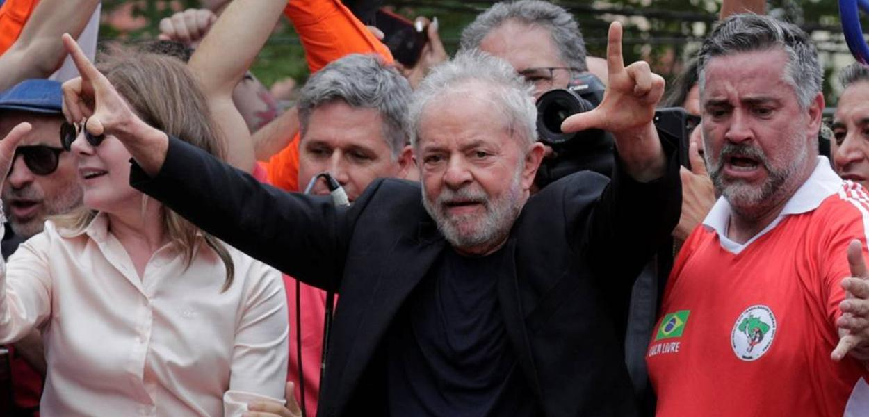 Lula no Sindicato do Metalúrgicos do ABC
