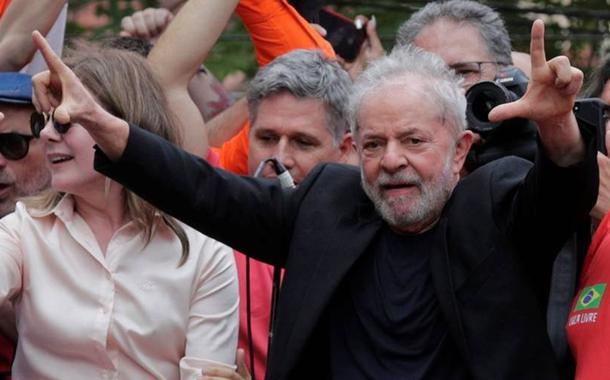 Lula no Sindicato do Metalúrgicos do ABC