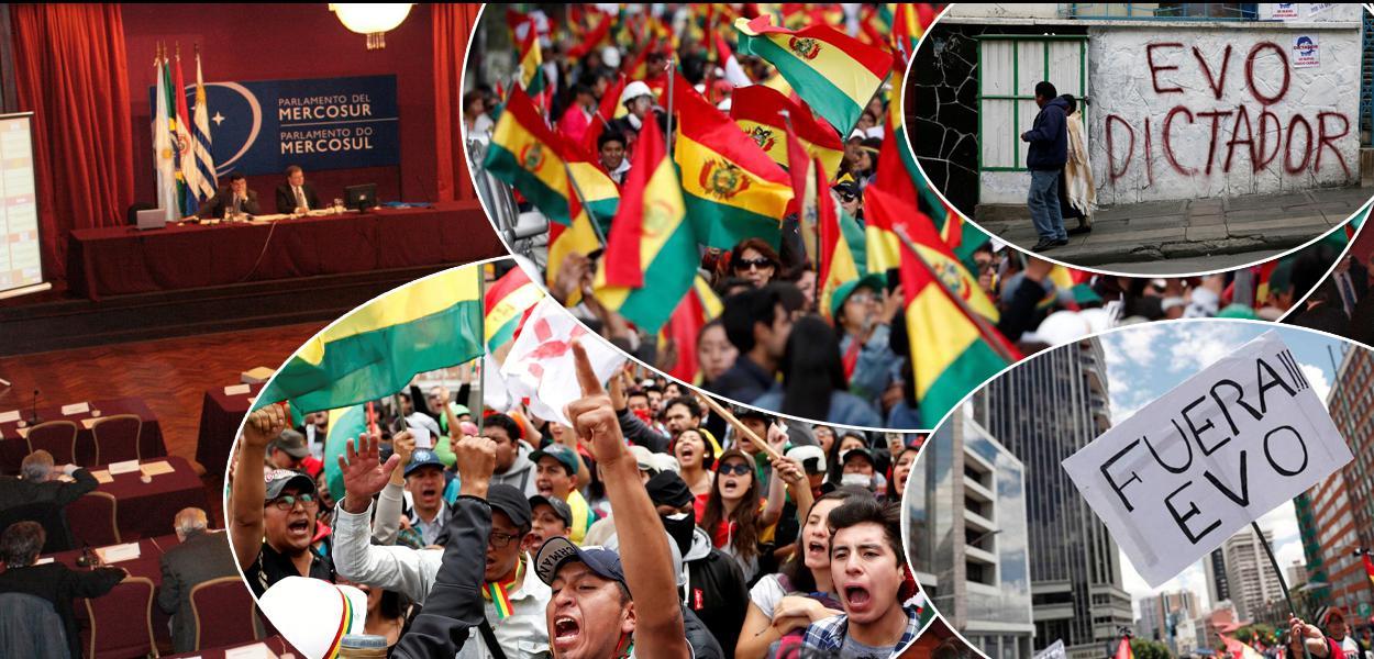 Parlasul condena golpe militar na Bolívia e violência da extrema-direita - Brasil 247