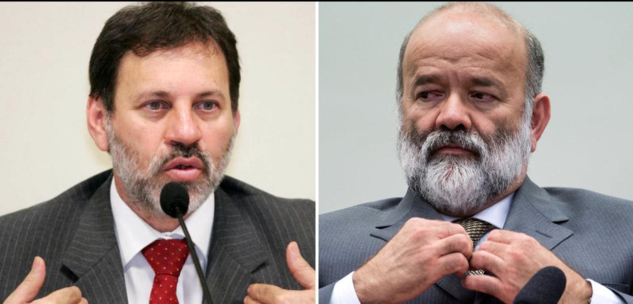 Delúbio Soares e João Vaccari Neto