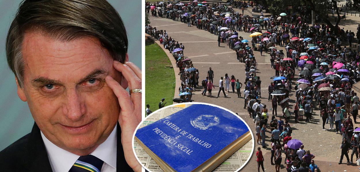 Sem saída para o emprego, Bolsonaro foca em populismo janista