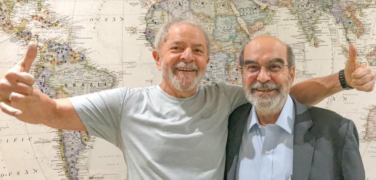 Lula e ex-diretor da FAO José Graziano