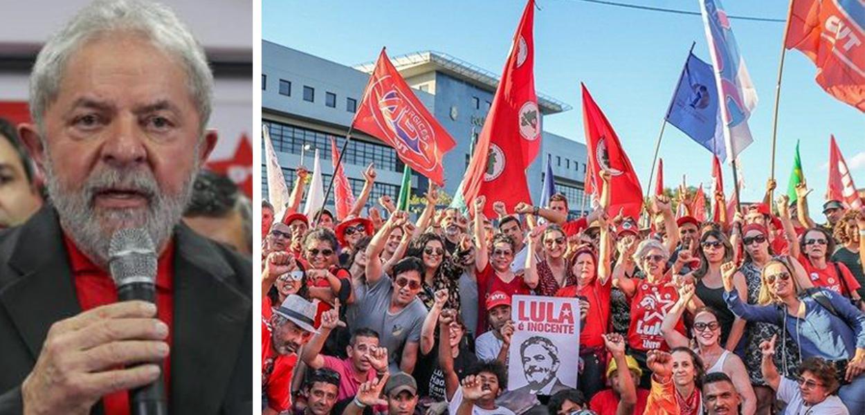 Justiça revoga liminar e proíbe manifestações da Vigília Lula Livre em Curitiba