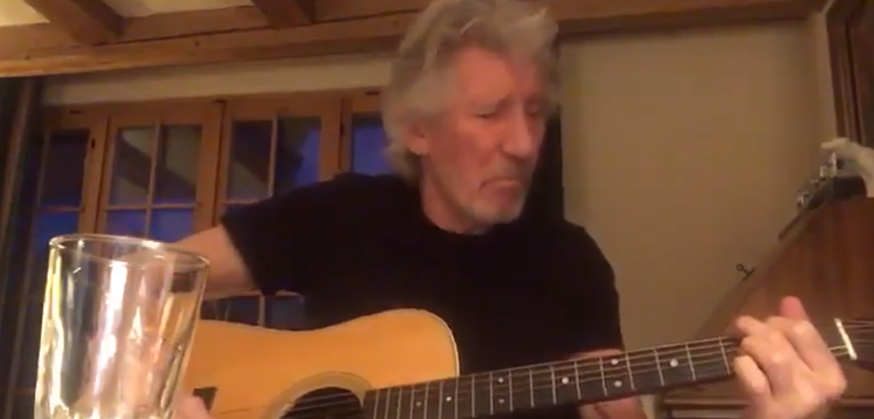 Roger Waters, do Pink Floyd, manda recado: tirem suas mãos da Venezuela
