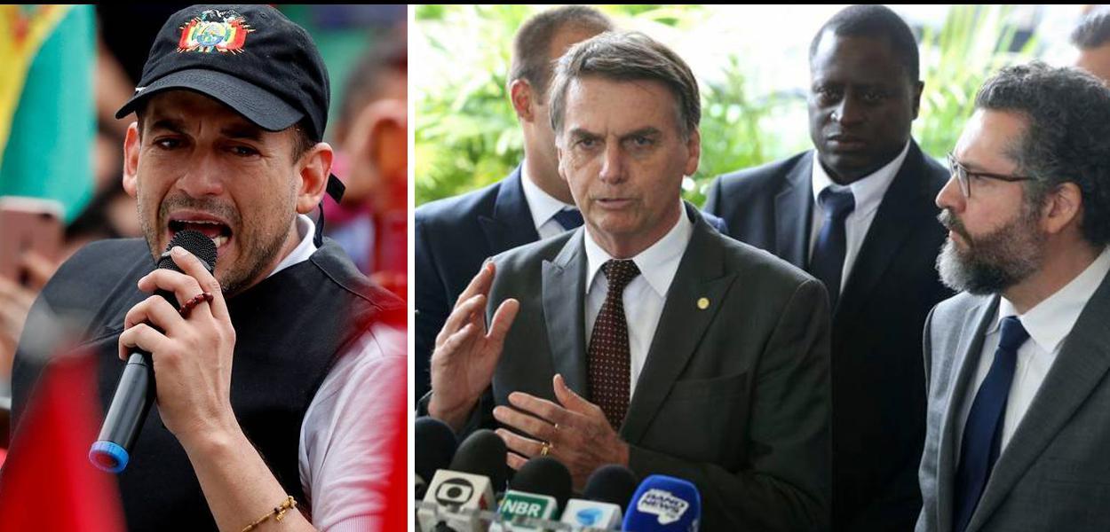 Camacho, Bolsonaro e Araújo