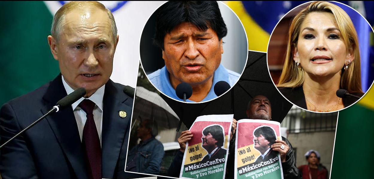 Vladimir Putin e Bolívia