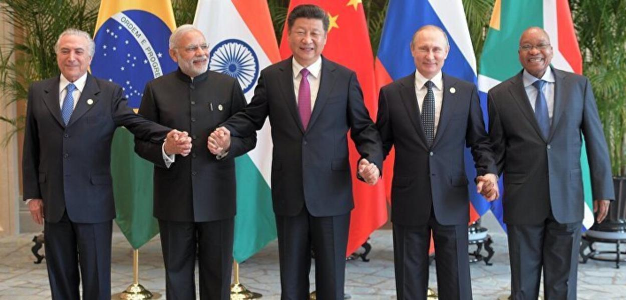 Líderes dos BRICS