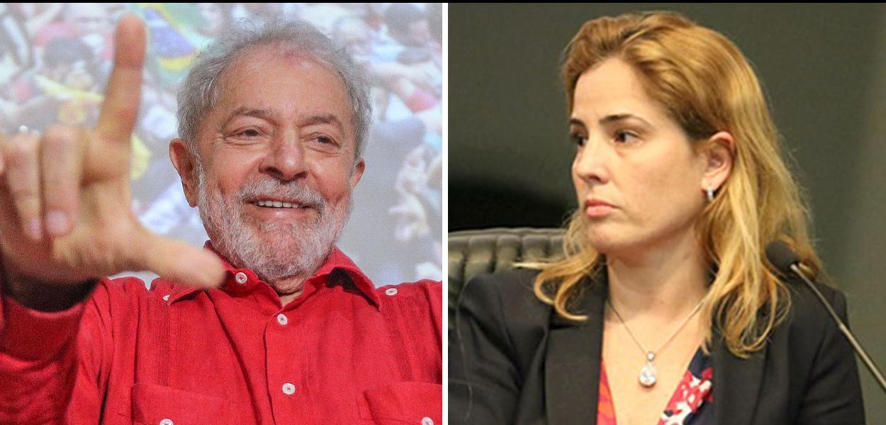 Lula e Gabriela Hardt
