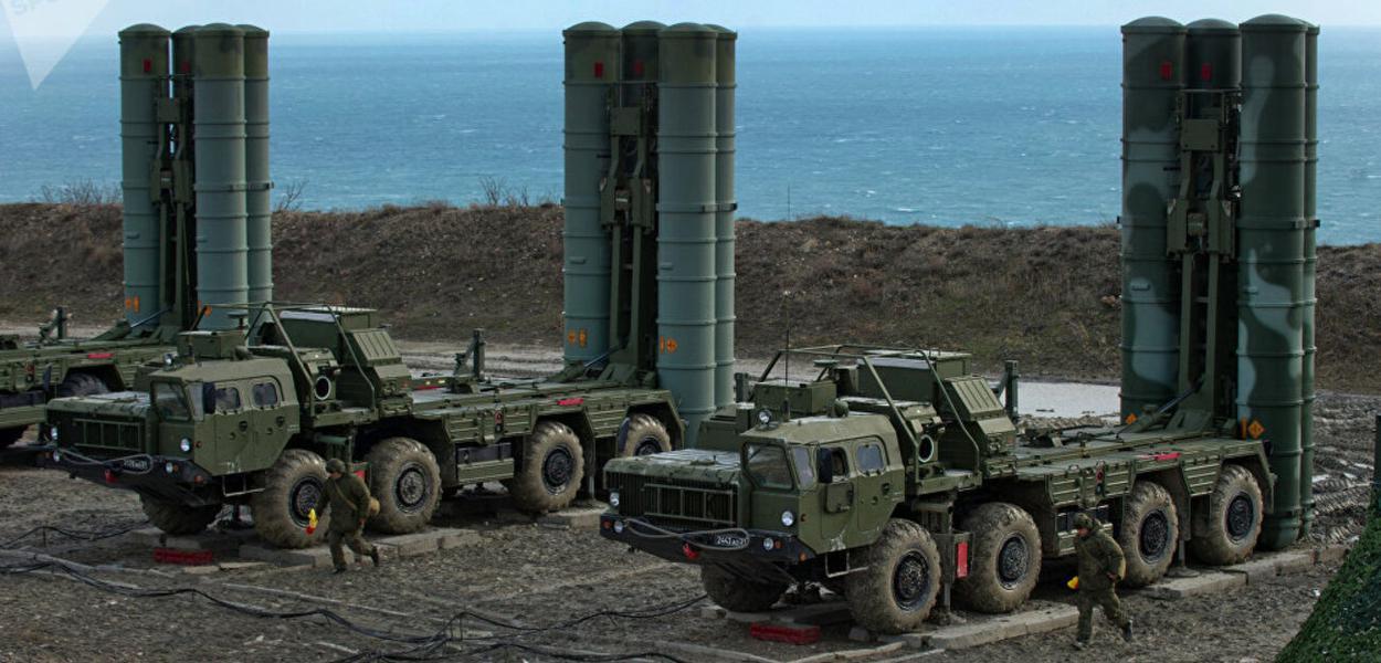Sistema S-400 russo