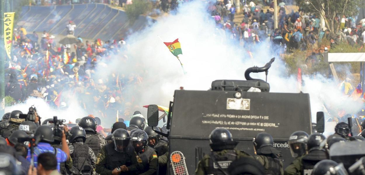 Ação da ditadura de Jeanine Áñez já resultou em oito mortes e mais de 100 feridos