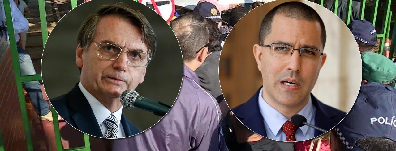 Chanceler da Venezuela faz relação de Bolsonaro com invasão de embaixada