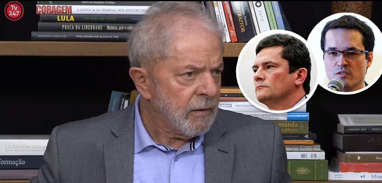 Lula, Moro e Dallagnol