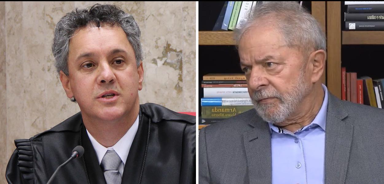 Desembargador João Pedro Gebran Neto e o ex-presidente Lula