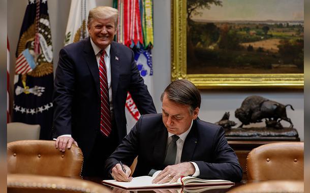 2019120215128 bfef0341 d79f 4ded 88c8 bb1c132087cc - Bolsonaro sai em defesa da política contra imigrantes de Trump e diz que Brasil dá direitos demais