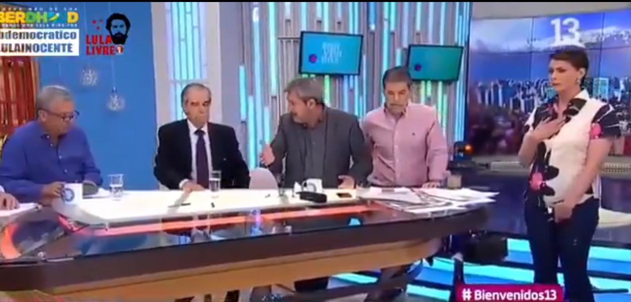 Apresentadora de TV no Chile expulsa convidado que negou ditadura de Pinochet
