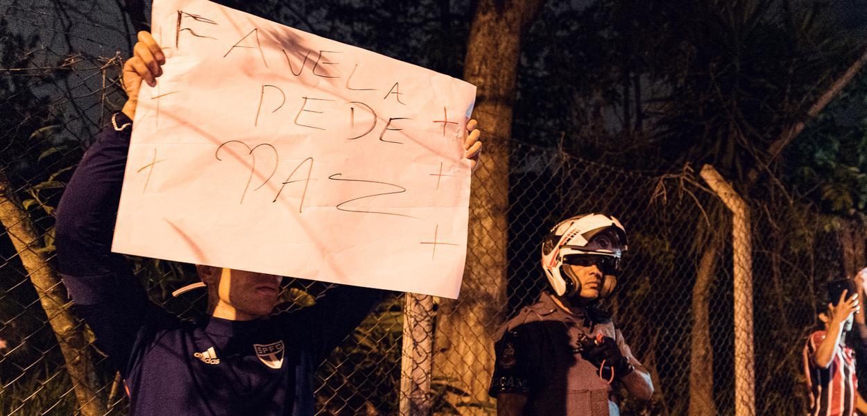 Protesto neste domingo por justiça aos 9 mortos em ação policial em Paraisópolis, na zona sul de São Paulo