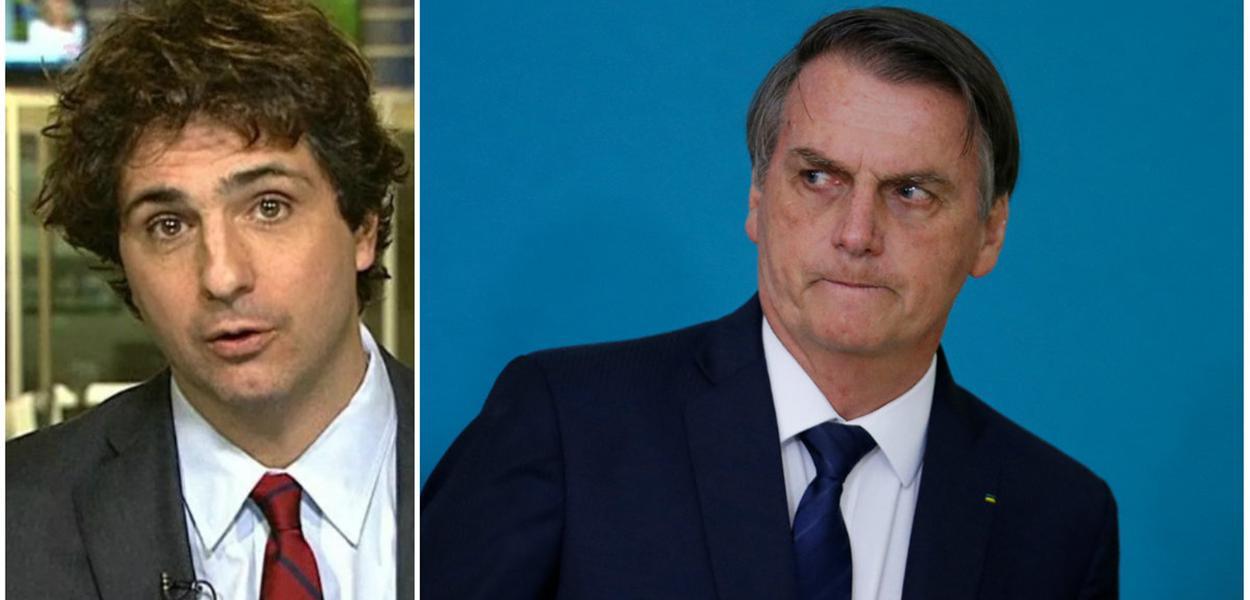 Guga Chacra e Jair Bolsonaro
