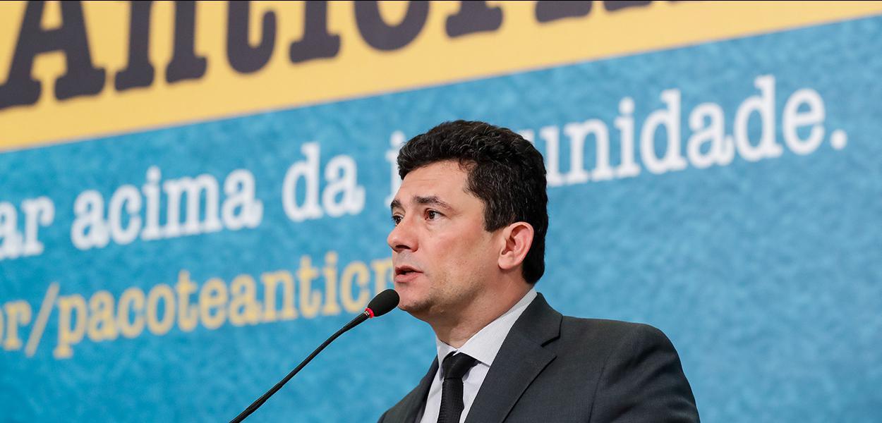 (BrasÌlia - DF, 03/10/2019) Palavras do Ministro de Estado da SeguranÁa P˙blica, SÈrgio Moro.\rFoto: Alan Santos/PR