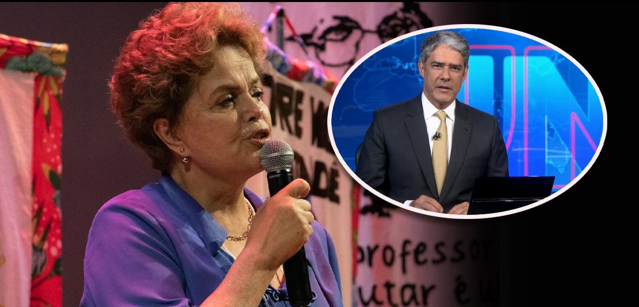 Ex-presidente Dilma Rousseff critica parcialidade da Globo