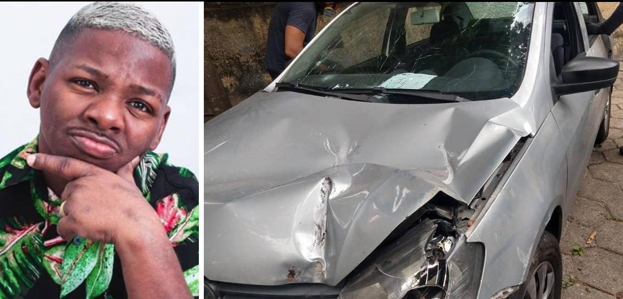 Diego Bunitinho estava dentro de um carro quando foi baleado