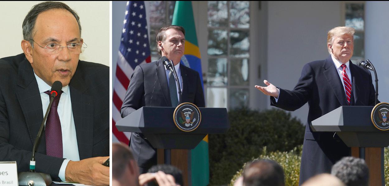 Marco Polo Mello Lopes, Jair Bolsonaro e Donald-Trump