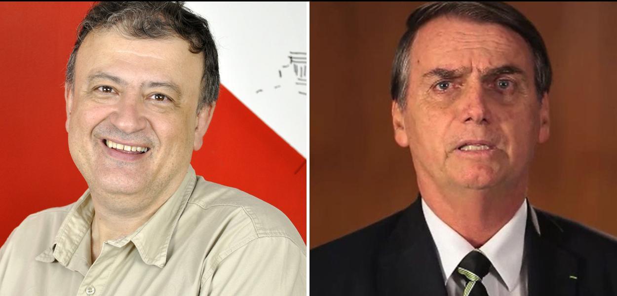 Christian Dunker e Jair Bolsonaro