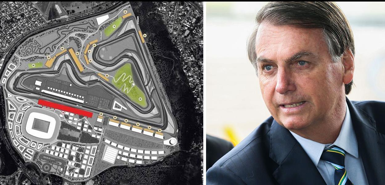 Autódromo de Deodoro e Jair Bolsonaro