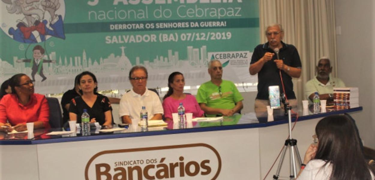 Jamil Murad fala aos delegados do congresso do Cebrapaz