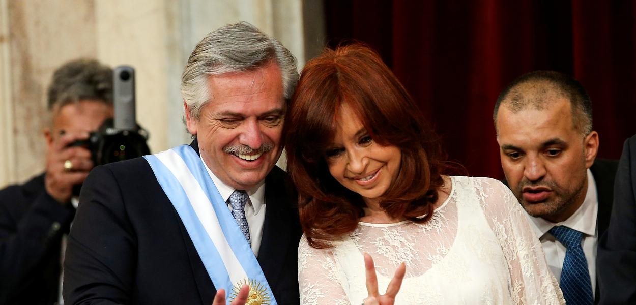 Alberto Fernandez e Cristina Kirchner tomam posse como presidente e vice na Argentina