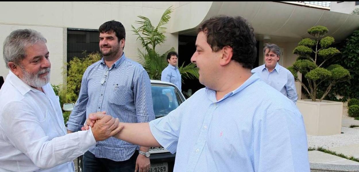 Lula e Fábio Luís Lula da Silva