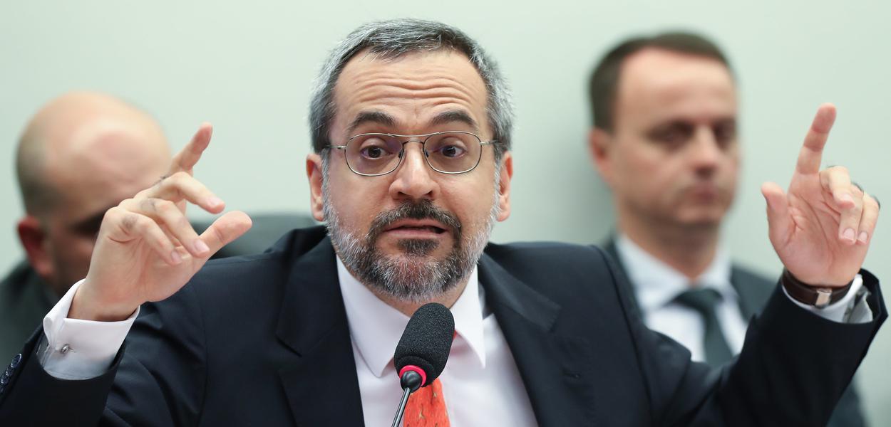 Brasília- DF. 11-12- 2019-   ministro da Educação Abraham Weintraub durante depoimento na comissão de educação da câmara