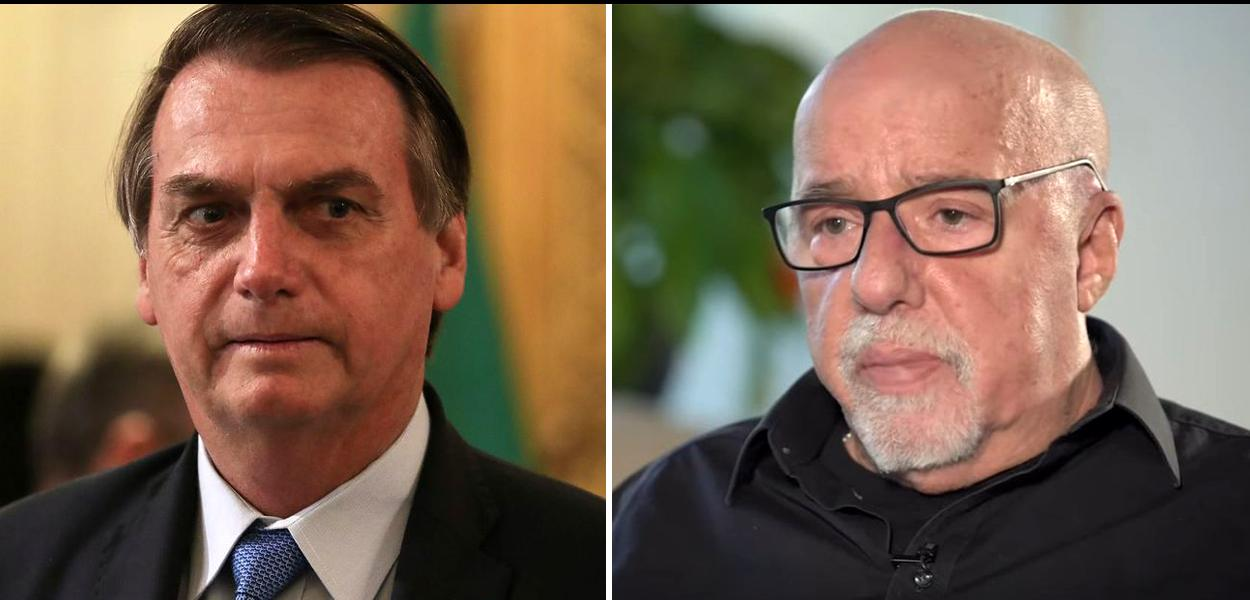 Paulo Coelho critica Jair Bolsonaro