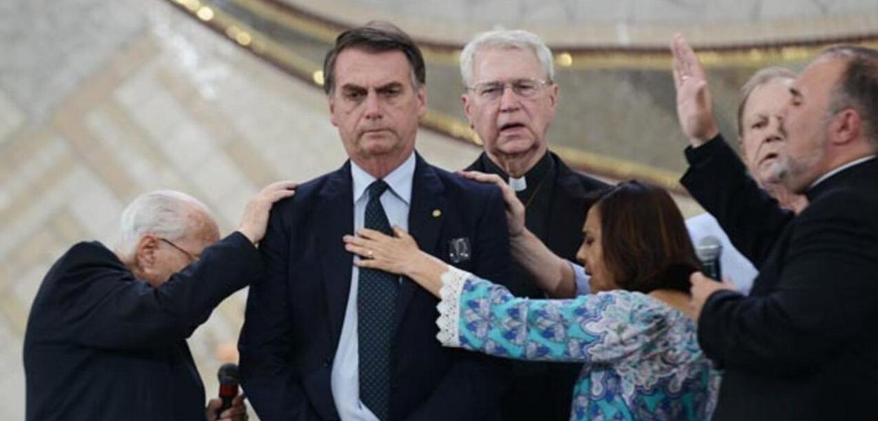 Bolsonaro e evangélicos