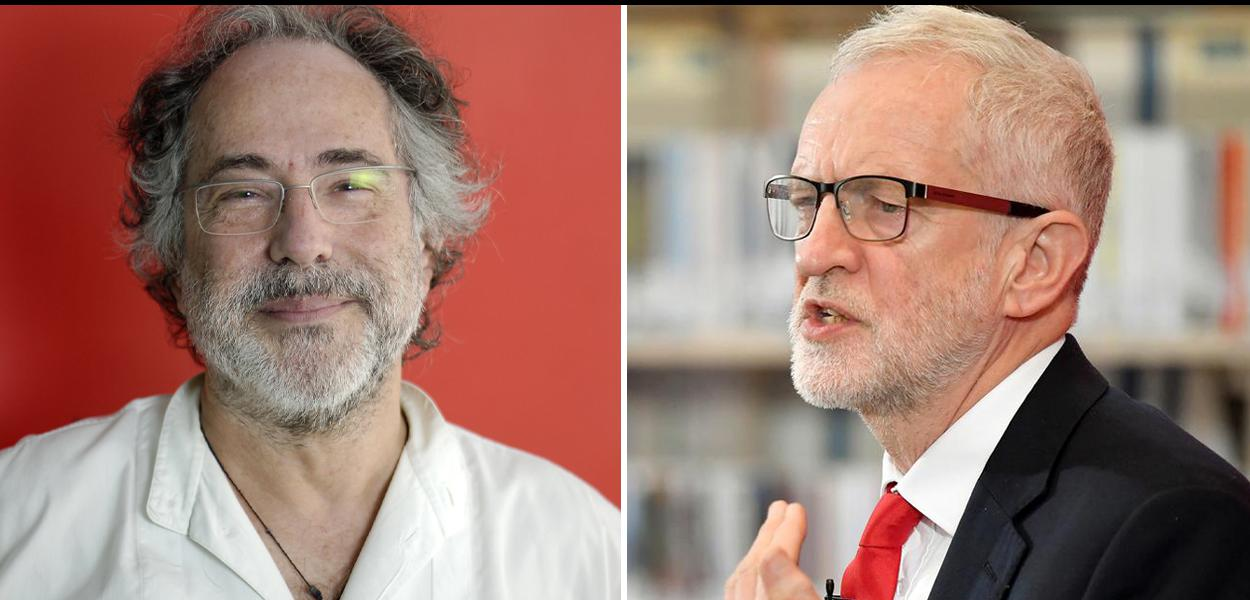Pepe Escobar e Jeremy Corbyn